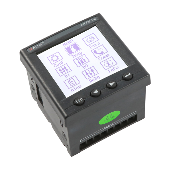 Wireless temperature control and measuring meters